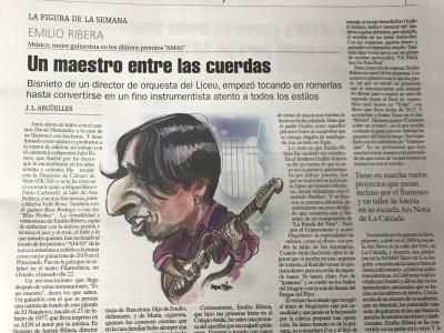 Emilio Ribera La Nueva España
